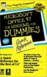 Microsoft Office 97 For Windows For Dummies: Quick Reference (0764500627) by Lowe, Doug