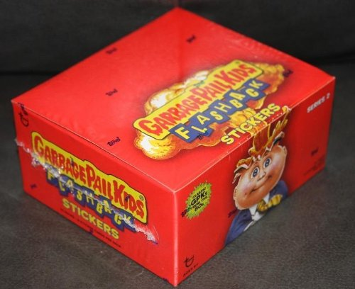 Topps Garbage Pail Kids Flashback 2 (2011) Sealed 24 Pack Retail Box