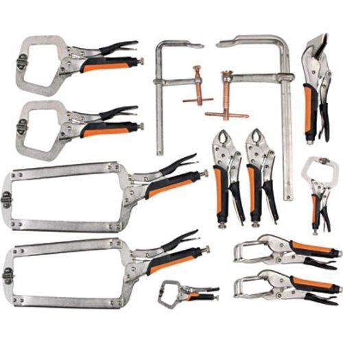 Hobart 770617 13-Piece Welding Clamp Set