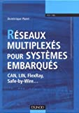 R�seaux multiplex�s pour syst�mes embarqu�s : CAN, LIN, FlexRay, Safe-by-Wire...