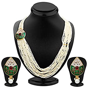 Sukkhi Fancy Gold Plated Necklace Set