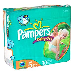 Let your baby's skin breathe easy with the airy, soft comfort offered by the Pampers diapers. These tape style Pamper diapers are easy to put on your baby and change, which comes as a great help to devforum.mls: