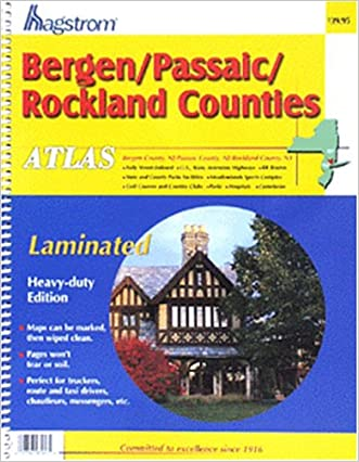 Bergen/Passaic/Rockland Laminated Atlas