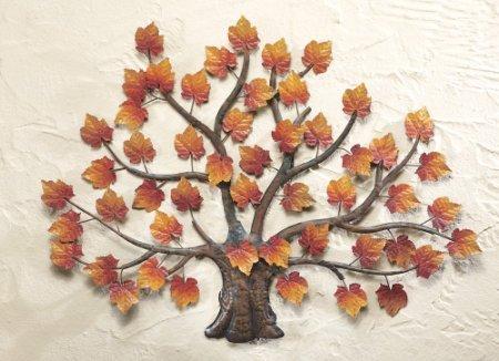 Maple Tree Decorative Metal Wall Art