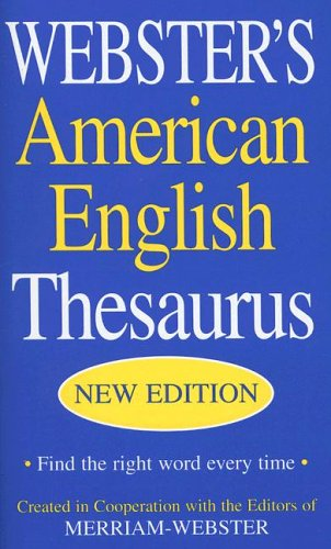 Webster's American English Thesaurus, Not Available Na )