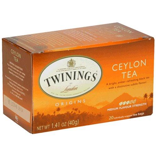Buy Twinings Ceylon Orange Pekoe Tea, Tea Bags, 20-Count Boxes (Pack of 6) (Twinings, Health & Personal Care, Products, Food & Snacks, Beverages, Tea, Black Teas, Tea Bags)