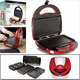 Countertop Multi-Grill with Removable Grill Trays - 9 pc.