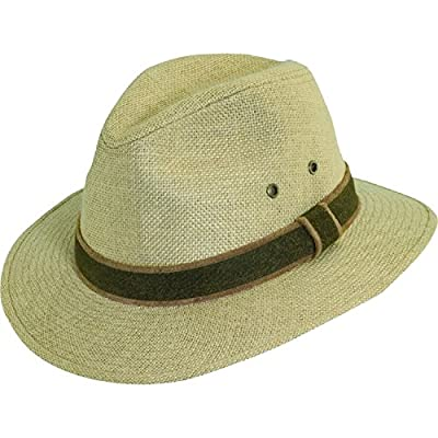 Dorfman Pacific Hemp Safari Hat