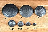 "1"" Dia. Round Distressed Clavos, Oil Rubbed Bronze Finish (Lot of 24), #CLR-100-ECON-24"