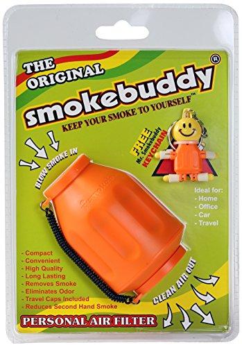 Smoke Buddy 0159-ORG Personal Air Filter, Orange (Smokebuddy Jr Personal Air Filter compare prices)