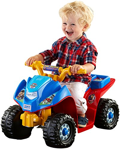 Fisher-Price Power Wheels Nickelodeon PAW Patrol Lil' Quad (Fisher Price 6volt Battery compare prices)