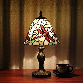 adf tiffany 8 inch table lamp bedroom lamp bedside lamp