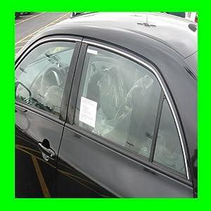 2000-2006 HONDA CIVIC CHROME WINDOW TRIM MOLDINGS 2PC 2001 2002 2003 2004 2005 00 01 02 03 04 05 06 DX CX EX LX SI