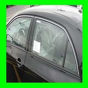 2004-2011 MAZDA 3 CHROME WINDOW TRIM MOLDINGS 2PC 2005 2006 2007 2008 2009 2010 04 05 06 07 08 09 10 11