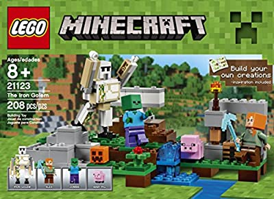 LEGO Minecraft The Iron Golem 21123 from LEGO