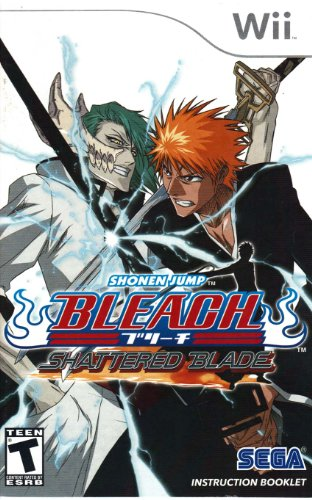 Bleach Shattered Blade Wii Instruction Booklet (Nintendo Wii Manual Only) (Nintendo Wii Manual) (Bleach Shattered Blade compare prices)