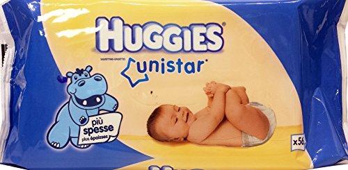 HUGGIES Salviettine Baby Unistar 56 Pezzi
