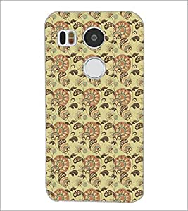 PrintDhaba Pattern D-5210 Back Case Cover for LG NEXUS 5X (Multi-Coloured)