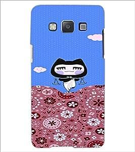 PrintDhaba Cartoon D-3158 Back Case Cover for SAMSUNG GALAXY A5 (Multi-Coloured)