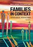 img - for Families in Context: Sociological Perspectives book / textbook / text book