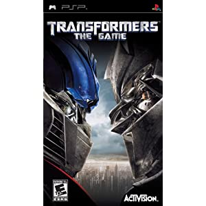 51T4p7kG6SL. AA300  Download Transformers: The Game 2007   PSP