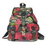 YONGER Vintage Backpack Hobo Satchel Canvas Women Back Bags