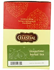Celestial Seasonings Sleepytime Herbal Tea, K-Cup Portion Pack for Keurig K-Cup Brewers, 24-Count