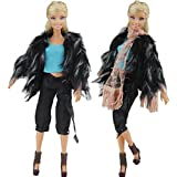 Evening Wedding Party Clothes Casual Dress Outfit Set For Barbie Doll Xmas Gift - B015ORV3K4