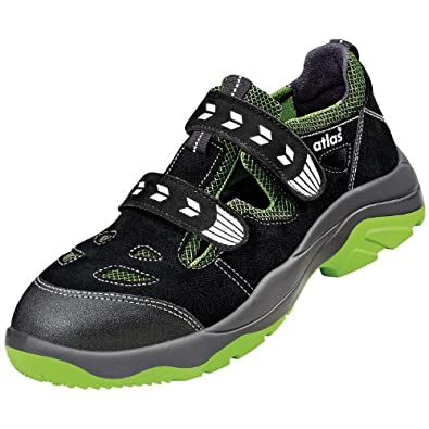 atlas safety sandals alu tec 260 en iso 20345 s1 w10 black 13 shoes bags. Black Bedroom Furniture Sets. Home Design Ideas