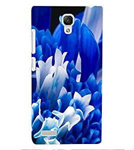ColourCraft Lovely Flowers Design Back Case Cover for XIAOMI REDMI NOTE