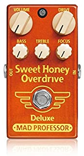 Mad Professor �ޥåɥץ�ե��å��� ���ե������� �����С��ɥ饤�� (New) Sweet Honey Overdrive Deluxe �ڹ��������ʡ�