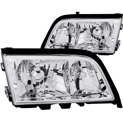 FRONT HEADLIGHT Mercedes-benz C220, Mercedes-benz C230, Mercedes-benz C280, Mercedes-benz C36 Amg, Mercedes-benz C43 Amg MBZ C CLASS W202 1900 CRYSTAL H.L (W202 Headlights compare prices)