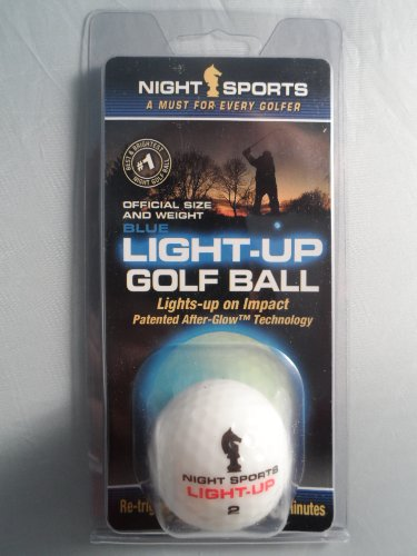 Night Sports Led Light-Up Golf Ball Blue