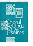 My Heart is Steadfast - Sheet Music for SATB with Optional Solos (Choral Settings of the Psalms, 11-0687)