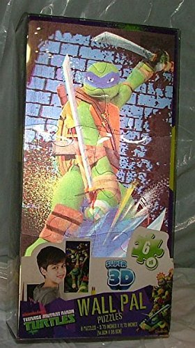Super 3d Teenage Mutant Ninja Turtles Wall Puzzles