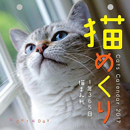 猫めくり 2017年 カレンダー 日めくり CK-C17-01