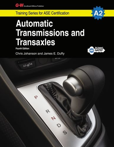 Automatic Transmissions & Transaxles Workbook, A2 (Training Series for Ase Certification) (Transmission Ase Book compare prices)