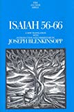 Isaiah 56-66 (Anchor Bible Commentaries) (The Anchor Yale Bible Commentaries)