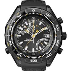Buy Timex Mens E-Instruments E-Altimeter Expedition Watch (Black Black) by Timex
