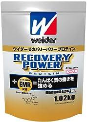 ウイダーリカバリーパワープロテイン ピーチ味 1.02kg