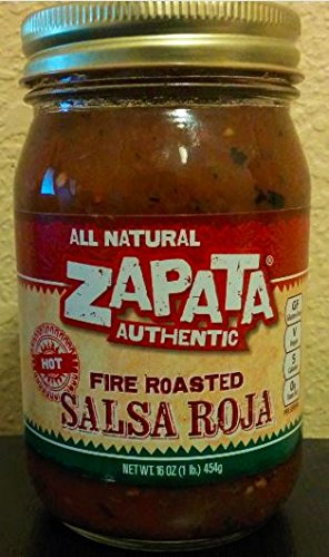 Zapata Fire Roasted Salsa Red Hot 16 OZ (Pack of 2) miracool neck bandana re usable 100 s of times keeps you cool red 2 pack