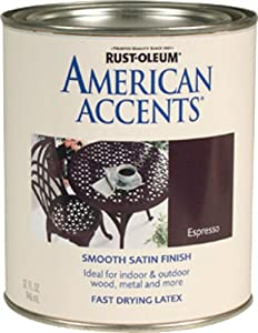 Rust-Oleum 215152T American Accents, Satin Espresso, 1-Quart - Amazon.