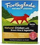Forthglade Lifestage Senior Chicken, Rice and Vegetable 395 g (Pack of 18)