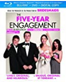 The Five-Year Engagement [Blu-ray + DVD + Digital Copy]  (Bilingual)