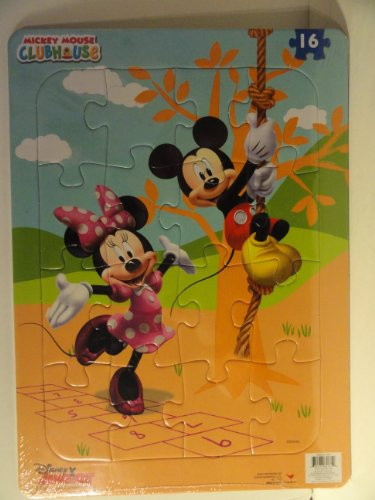 Mickey Mouse Clubhouse Jigsaw Frame Puzzle - 16 Pieces - 1
