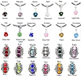 Birthstone Spacer