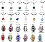 Birthstone Spacer Bead Charm