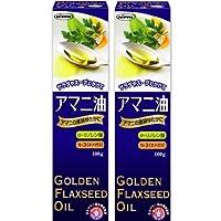 日本製粉 アマニ油100g×2本セット