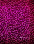 Pink Leopard: cahier 106 pages - 21.5...