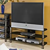 Techcraft BEL501B 50-Inch Wide Home Theater Stand (Black)